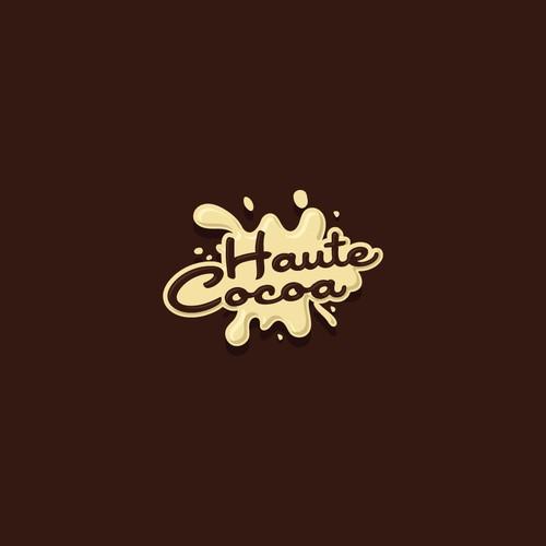 Playful logo for handmade chocolates
