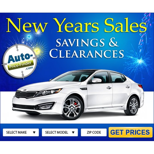 New Years ad for a cool automotive company!
