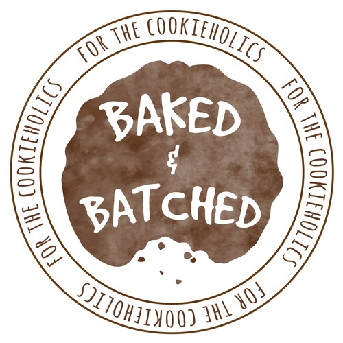 Bold artisan logo for cookie company