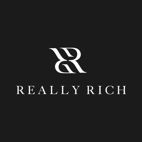 RR monogram for fashion brand.