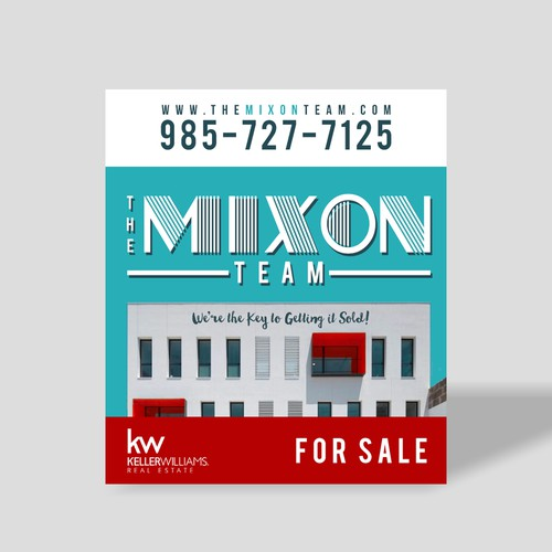 Sign new Concept for The Mixon Team