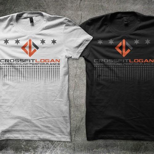 CrossFit Logan - T Shirt Design