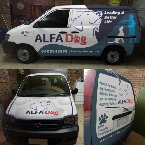 Van Wrap to appeal dog owners