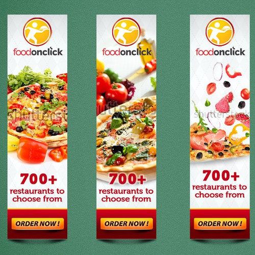banner ad for Foodonclick.com