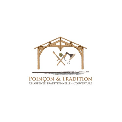 Bold logo for Poinçon & Tradition