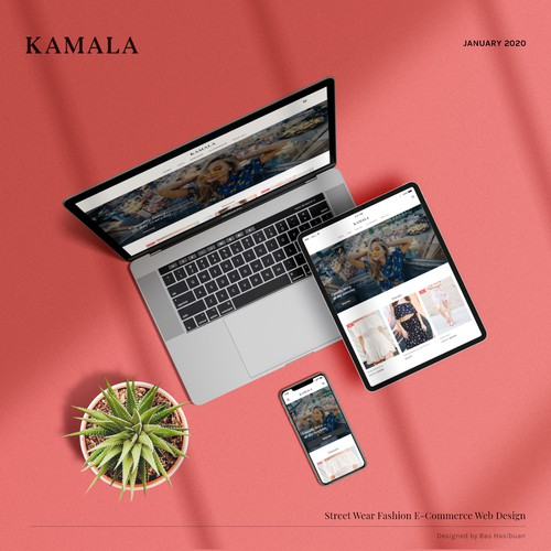 Website for Street Wear Fashion Ecommerce