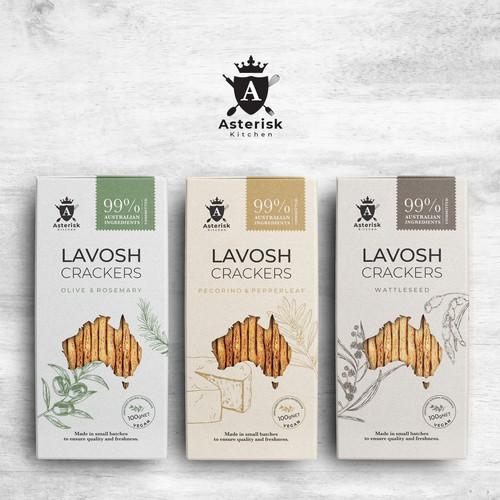 Asterisk Kitchen Lavosh Crackers