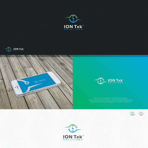 Logo done for ION Tek Solutions