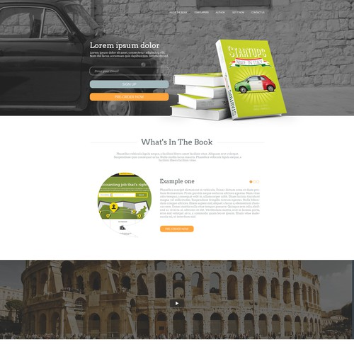 "Design for the Book ""Ultimate guide to know Italian Startups"""