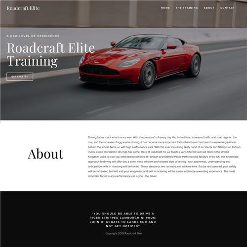 Roadcraft Elite Driver Training