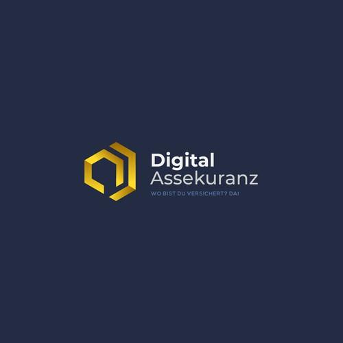 Geometry Logo for Digital Assekuranz