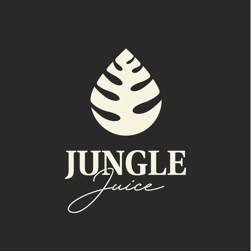 Creative logo design for an alcoholic beverage