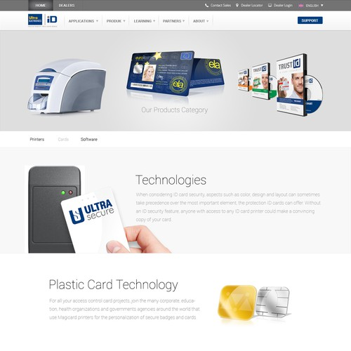 Spech Page for smart card