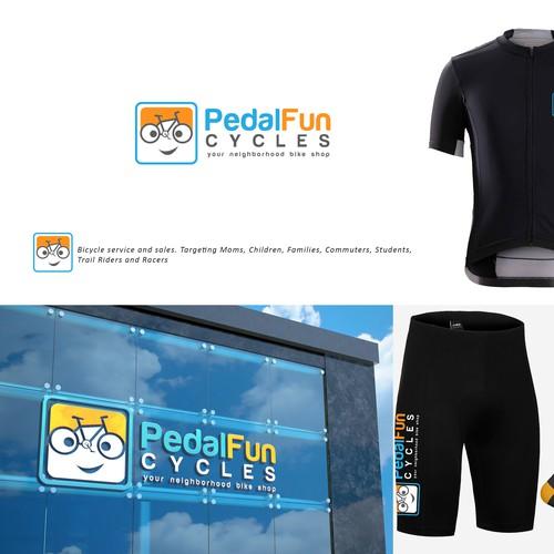 PedalFunCycles Logo