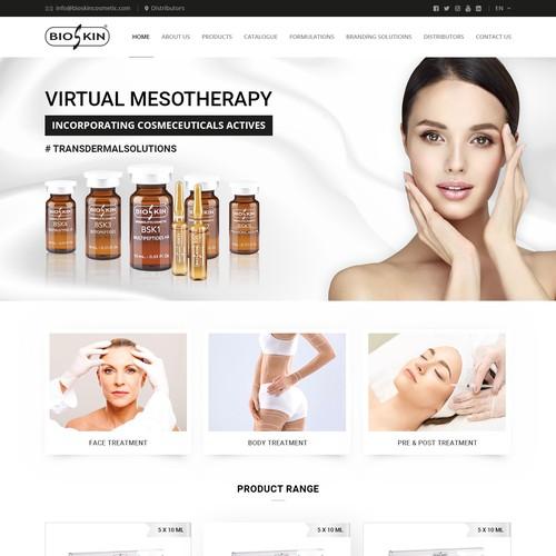 Website for Bioskin
