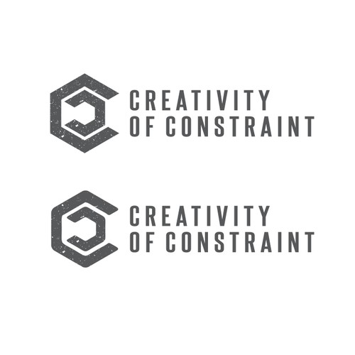 Logo design for Creativity of Constraint