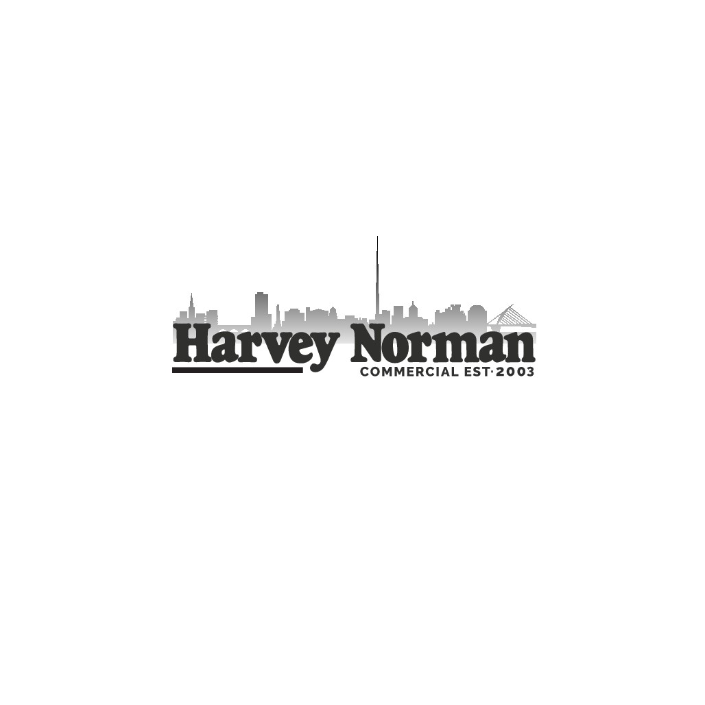 Design a sharp, fresh, professional logo for Harvey Norman Ireland