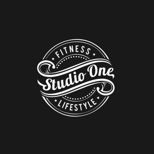 Artistic Logo Design For Studio One Fitness