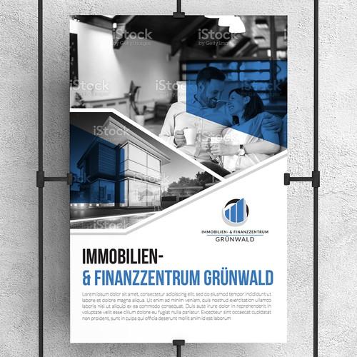 Poster Design for Finance & Real Estate Company