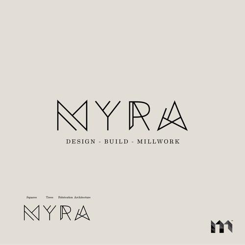 MYRA Logo Concept