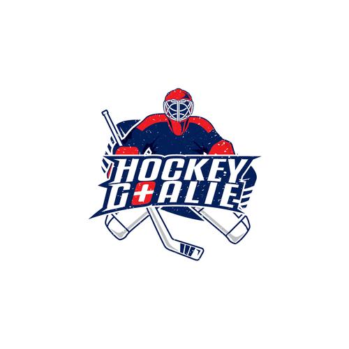 Logo for hockey goalie