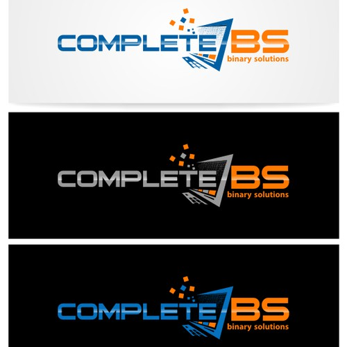Create a new logo that is CompleteBS
