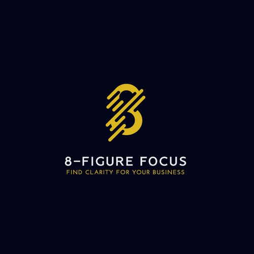 Bold logo for small business strategy and marketing consulting firm