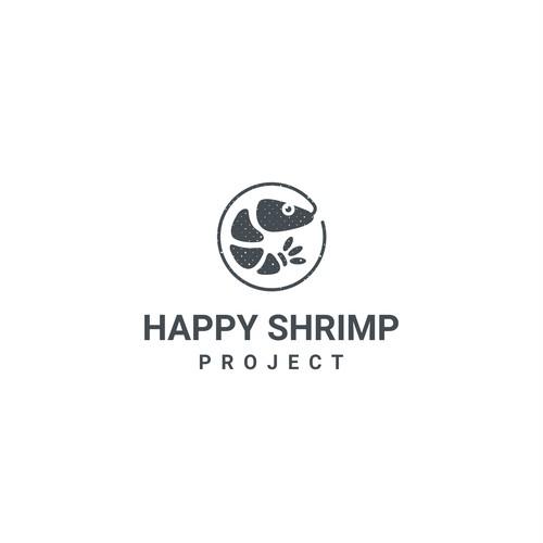 Logo idea for Happy Hrimp Project