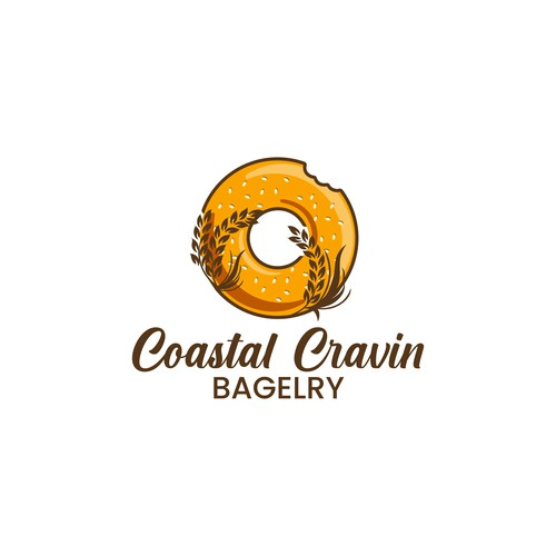 Logo Design for Bagel Shop