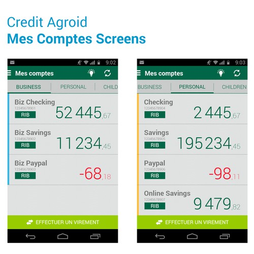 Android App for Online Banking