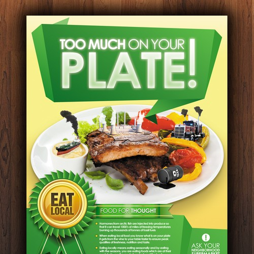 Food For Tought Flyer