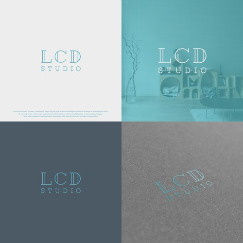 Luxury Logo for LCD STUDIO