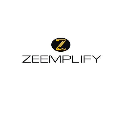 Create an awesome logo for Zeemplify (must be suitable for physical products and label/packaging)
