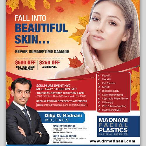 Madnani Facial Plastics October Ad