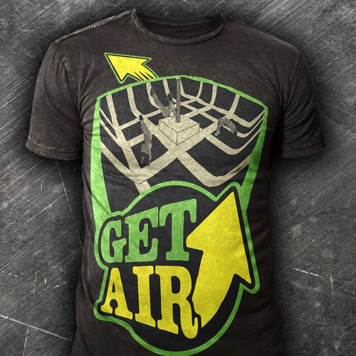 Get Air trampoline park T-Shirt design