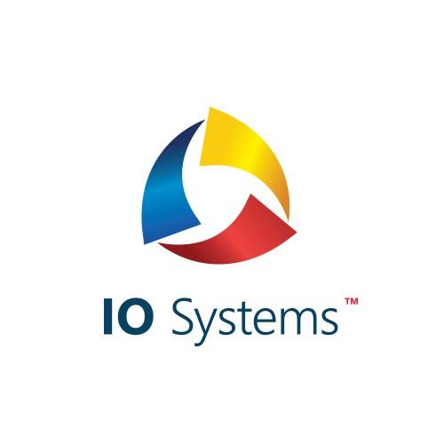 Creative logo concept for IO System