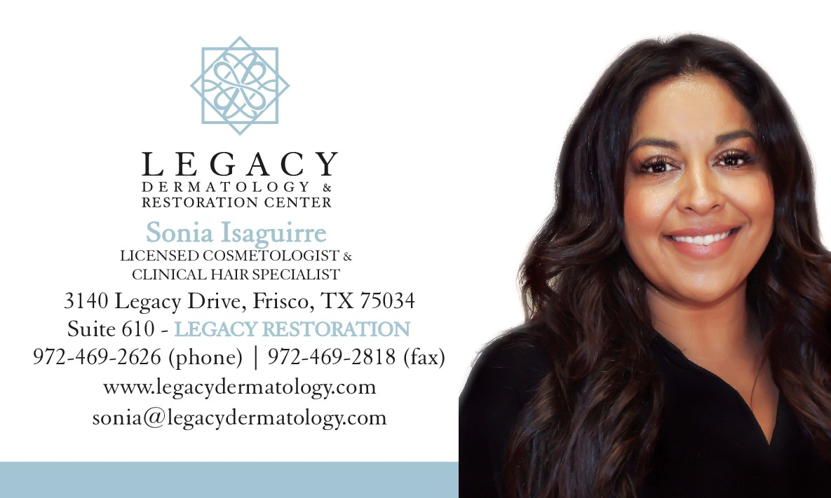 Business card - Sonia Isaguirre