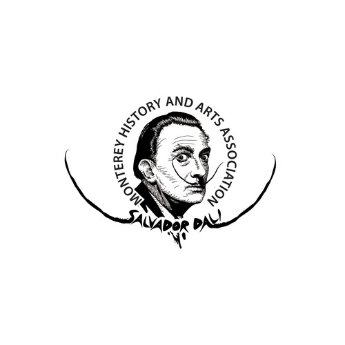 Logo concept for Salvador Dali, a surrealist