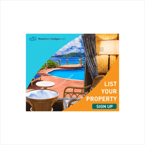 Banner for property listing firm