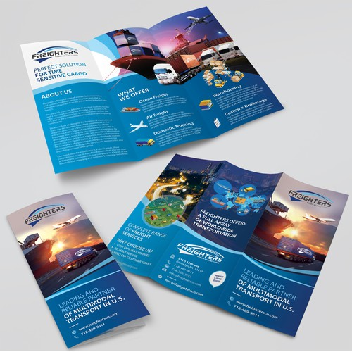 Brochure for Freighter