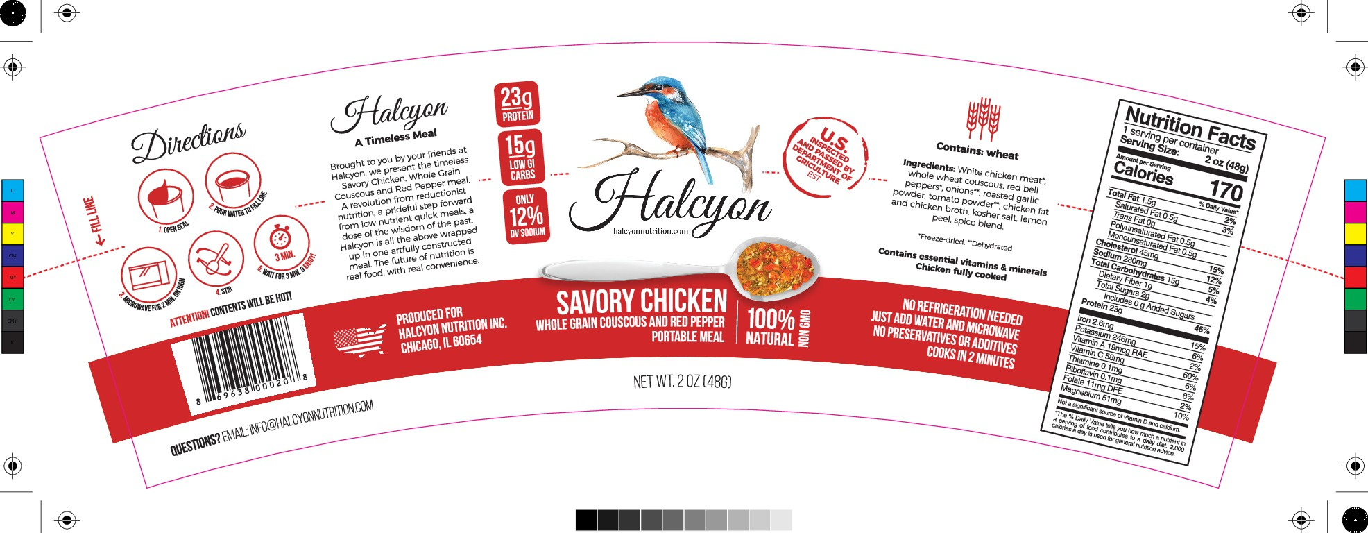 Looking for Sleek, Modern Label Design for Healthy Meal Cup
