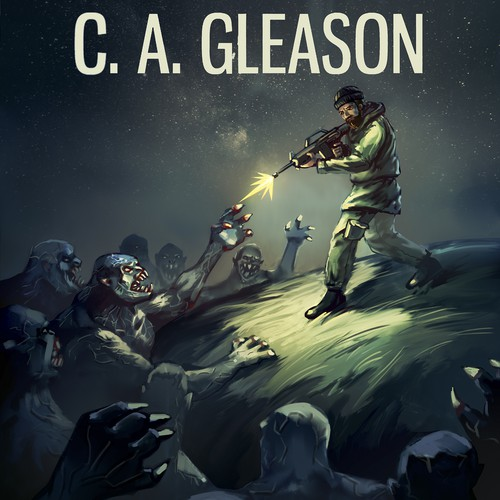 Third book of post-apocalyptic series using established character designs