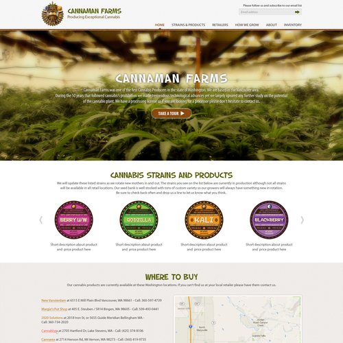Legal Marijuana Needs Fresh Website!