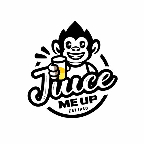 Logo for juice bar