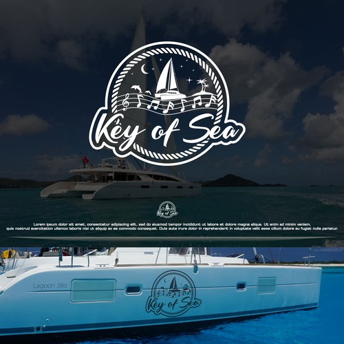 Logo Concept Key os Sea