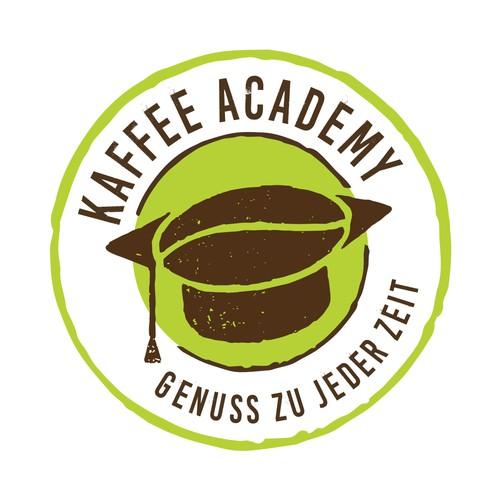 Spritziges Logo für eine Kaffeeschule