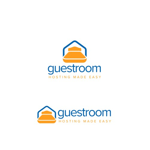 Guestroom Housing Startup Logo