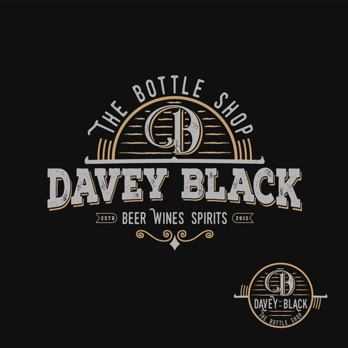 logo for family owned local bottle shop