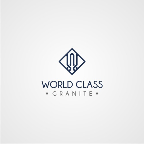 Logo Design For World Class Granite