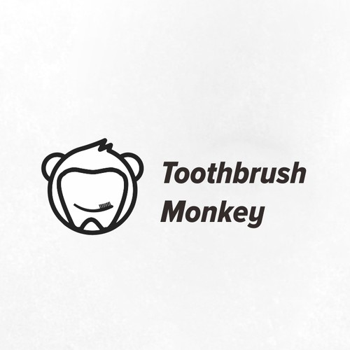 toothbrush monkey